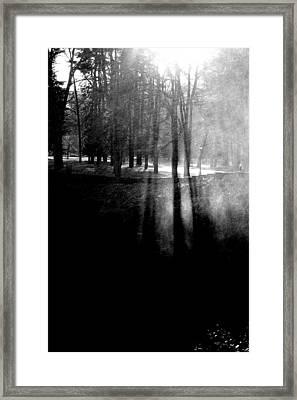 Mist An Black Framed Print