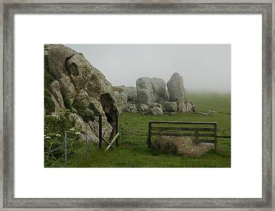 Mist And Mystery Framed Print by Dianne Levy