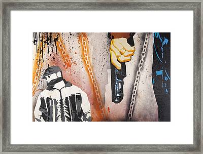 Mistakes Are Made And Hearts Are Broken Framed Print by Tai Taeoalii