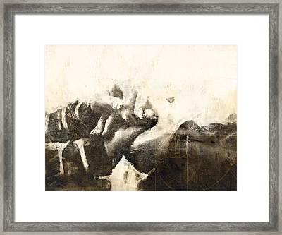 Mistakes Xxxvi Framed Print by Qui