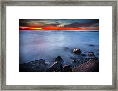 Misted Mystic Framed Print