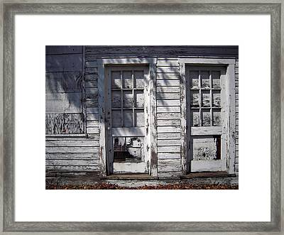 Framed Print featuring the photograph Mister Butterfly Has Missed His Train by Don Struke