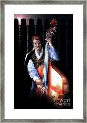 Mister Charles About That Bass Framed Print