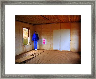Framed Print featuring the photograph Mister Funny Face Near The Golden Gate by Don Struke