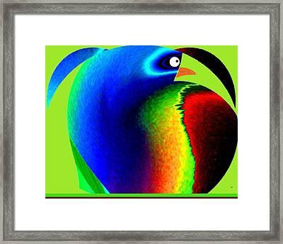 Mister Potato Bird Framed Print by Will Borden