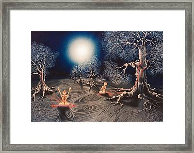 Mistery Of Cosmic Obsession Framed Print