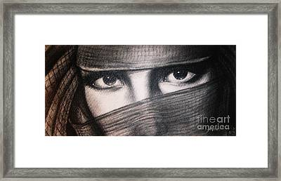 Mistic Eyes Framed Print