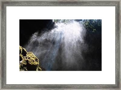 Mistic Falls Framed Print by Benjamin Garvey