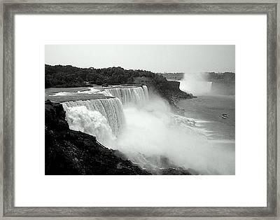 Mistical Niagara Falls Framed Print