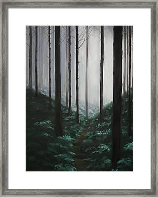 Mists Of Past Times Framed Print by Maren Jeskanen