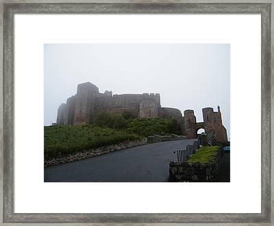 Misty Bamburgh Castle Framed Print