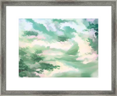 Misty Clouds 1 Framed Print