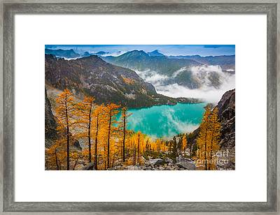 Misty Enchantments Framed Print by Inge Johnsson