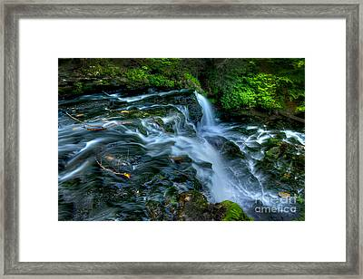 Misty Falls - 2976 Framed Print by Paul W Faust -  Impressions of Light