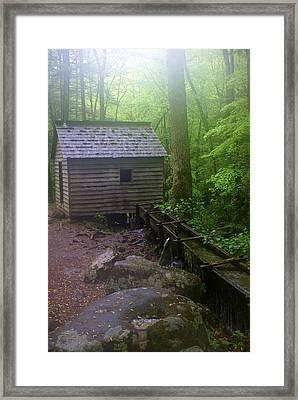 Misty Mill Framed Print by Marty Koch