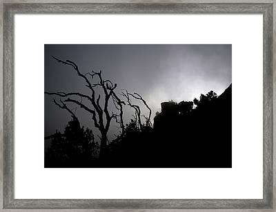 Misty Montserrat Framed Print by Jason Hochman
