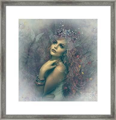 Misty Mood Framed Print