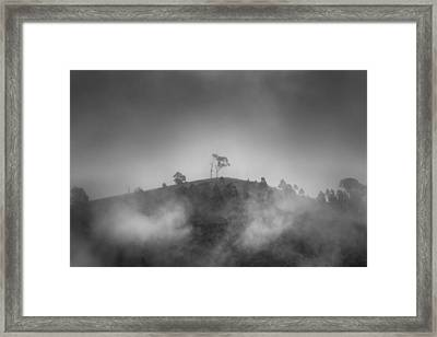 Misty Moods Framed Print by Az Jackson