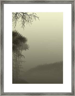 Misty Morn Framed Print by Trilby Cole