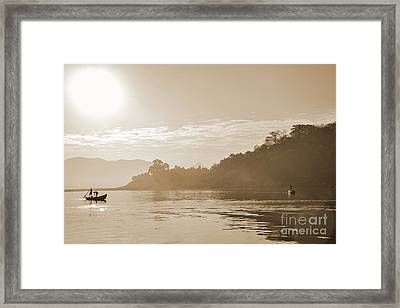 Misty Morning 2 Framed Print