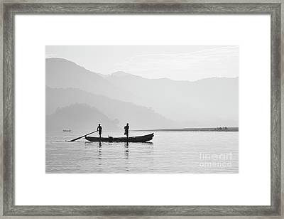 Misty Morning 3 Framed Print