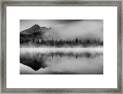 Misty Morning Framed Print by Cat Connor