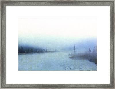 Misty Morning Framed Print by Catherine Alfidi