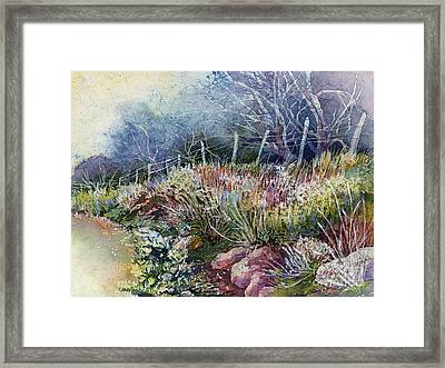 Misty Morning Framed Print by Hailey E Herrera