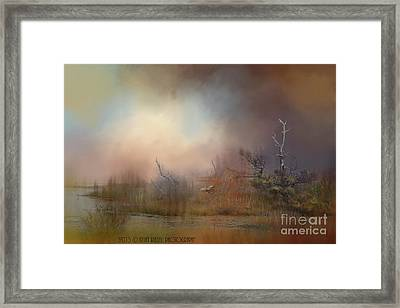 Misty Morning Framed Print by Kathy Russell