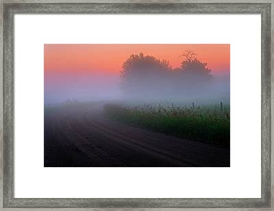 Misty Mornings Framed Print