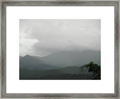 Misty Mountain High Framed Print by Raven Moon