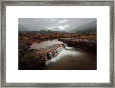 Misty Mountain Majesty  Framed Print