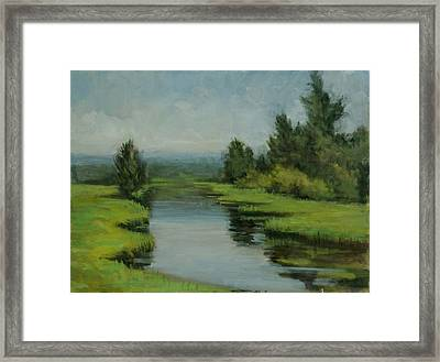 Misty Paradox Framed Print by Robert James Hacunda