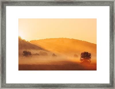 Misty Rays Framed Print by Todd Klassy