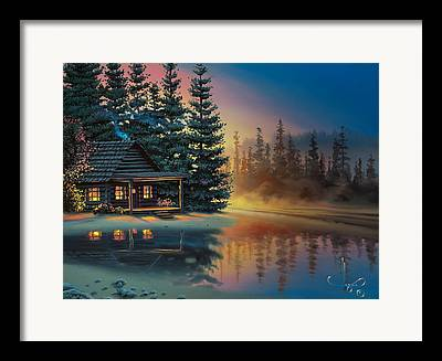 Cabin Framed Prints