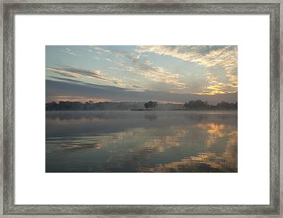 Misty Reflections Framed Print