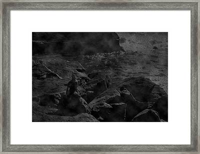 Misty Sea Framed Print
