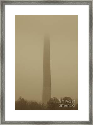 Misty Sky Framed Print by Hideaki Sakurai