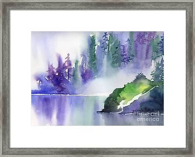 Misty Summer Framed Print by Yolanda Koh