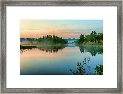 Misty Sunrise IIi Framed Print