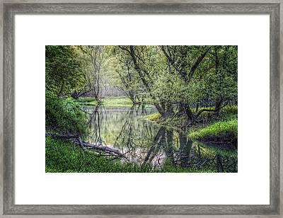 Misty Waters Framed Print