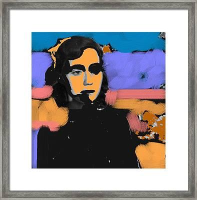Misty Woman Framed Print by Paul Freidin