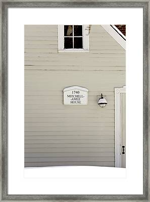 Mitchell-amee House Framed Print