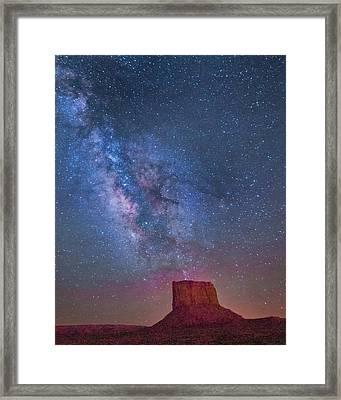 Mitchell Butte Milky Way 1 Framed Print