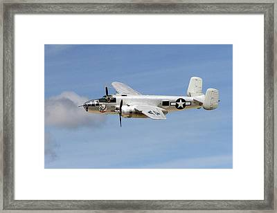 Mitchell In The Sky Framed Print