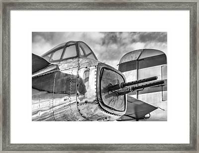 Mitchell Tail Guns Framed Print