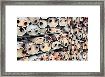 Mitosis Warehouse Framed Print