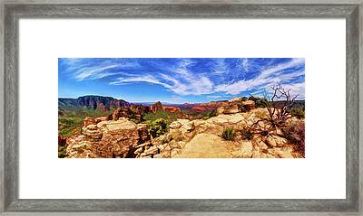 Mitten Ridge Beauty 1 Framed Print by ABeautifulSky Photography