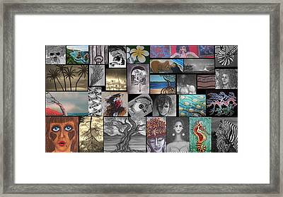 Mix It Up 2 Framed Print