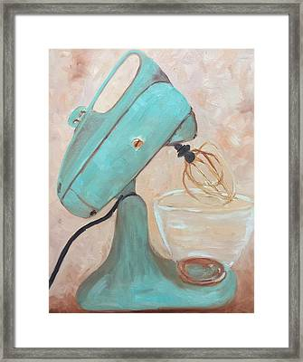 Mix It Up Framed Print